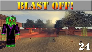 Blast Off | 24 - Is This Heaven? | Modded Minecraft Let