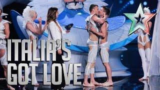 Les Farfadais: la proposta di matrimonio è in diretta | Italia's Got Talent 2015