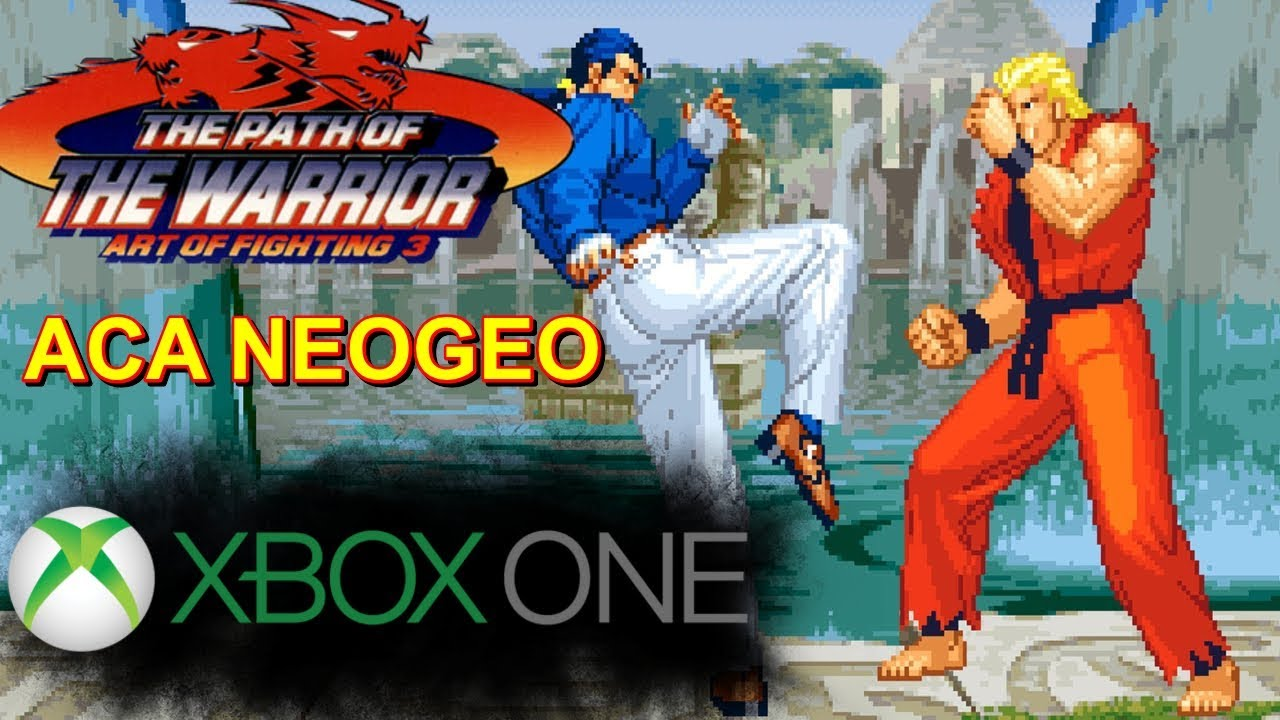 Art Of Fighting 3 Xbox One Gameplay Aca Neogeo Youtube