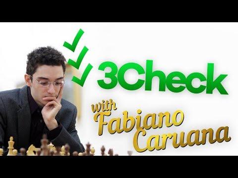 Fabiano Caruana plays Three-Check Chess