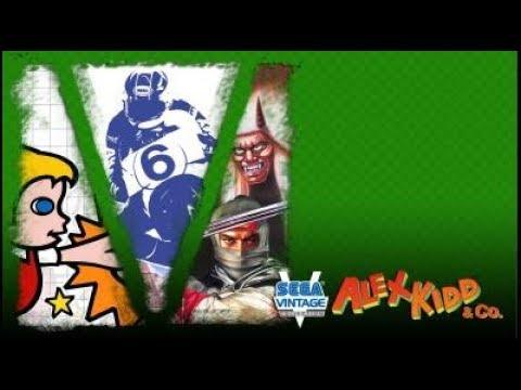 Alex Kidd + Shinobi + Hang On no Xbox One - Sega Vintage Collection