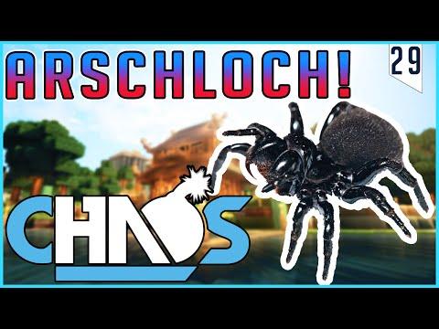 Die Arschloch-SPINNE! - Minecraft CHAOS #29   Earliboy