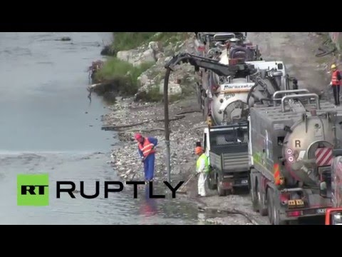 Italy: State of emergency declared in Genoa over oil spill fears