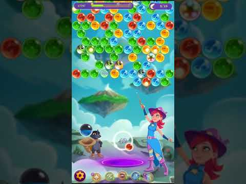 Bubble Witch 3 Saga Level 1145 ~ No Boosters