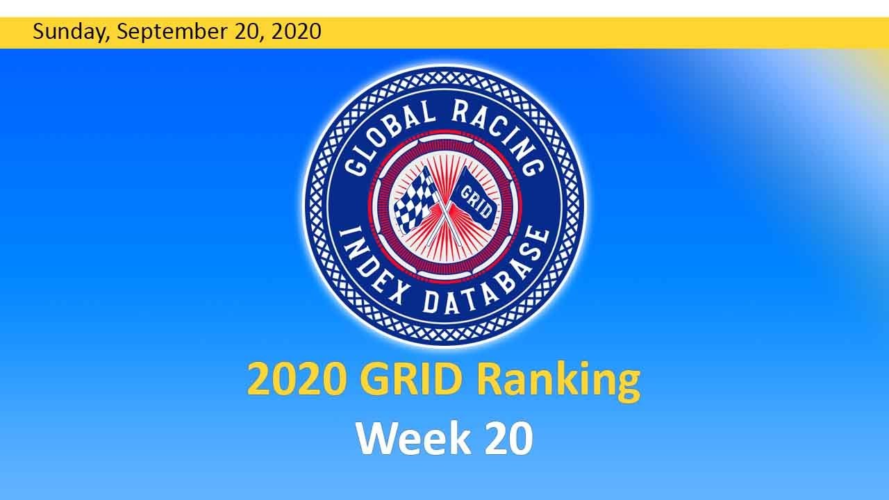 GRID Ranking Week 20