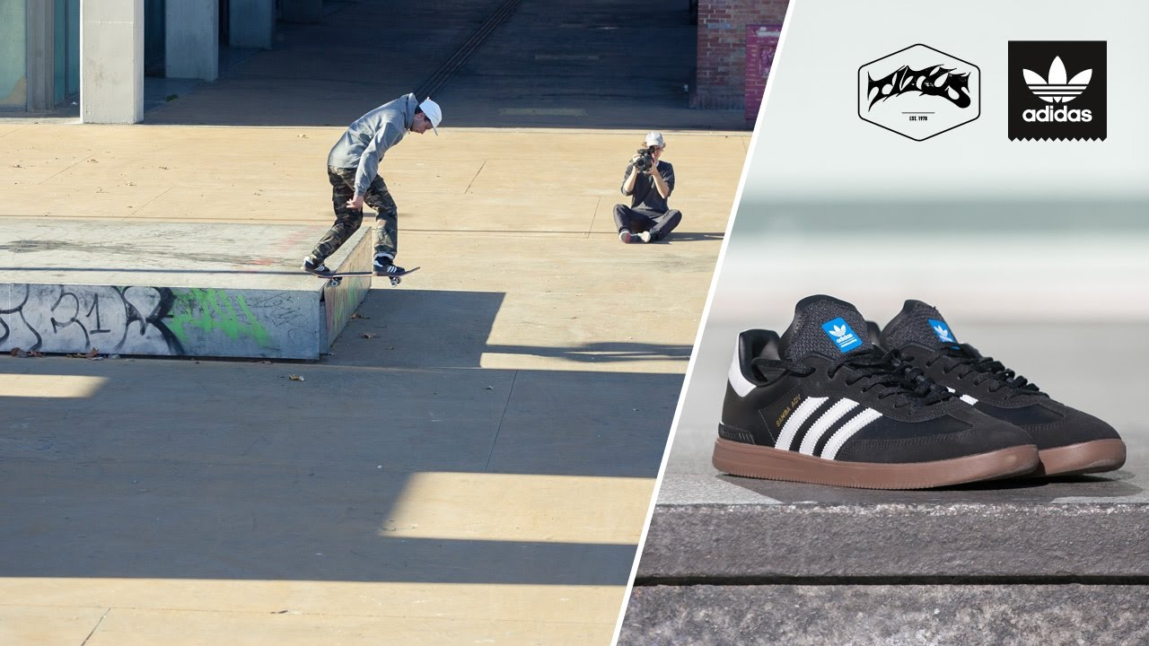 2bed5f762d1 adidas Skateboarding Samba ADV Wear Test with Jost Arens - YouTube