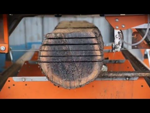 Milling Black Walnut - through 'n through method