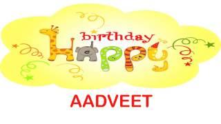 Aadveet   Birthday Wishes