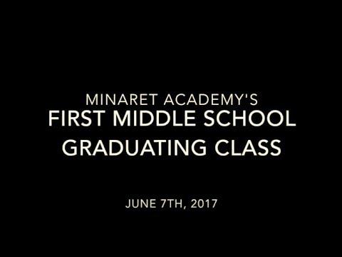 Minaret Academy's 1st Middle School Graduation