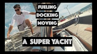 A Full Day As A Yacht Crew Member (Docking, Fueling, Travel, Time Off)