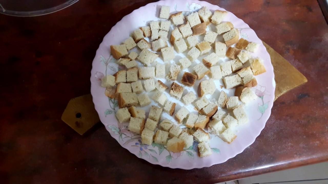 Как сделать сухари в микроволновке из хлеба фото 138