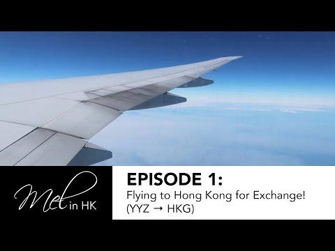 Flying to Hong Kong for Exchange! (YYZ → HKG) | melindatse