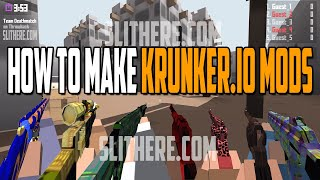 How To Make KRUNKER.IO MODS - KRUNKERIO MAPS