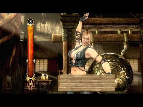 Mortal Kombat Komplete Edition - Test Your Might All Challenges Gameplay Playthrough