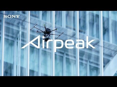 Sony visar upp sin drönare ordentligt Teasade Airpeak S1 under CES