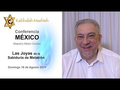 Albert Gozlan: próxima Conferencia en MEXICO 18 Agosto 2019