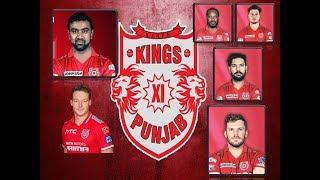 Kings XI Punjab Team IPL 2018 players list | playing 11 VIVO IPL 2018 | KXIP