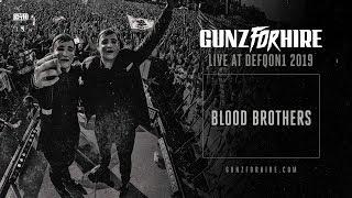Смотреть клип Gunz For Hire - Blood Brothers