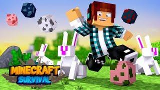 Minecraft Survival #21 - ESSE COELHO FAZ ALGO INCRÍVEL !!