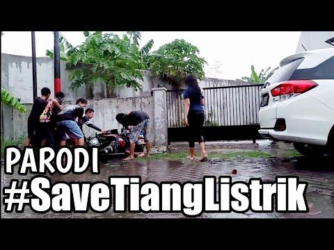 VIRAL! Nabrak Tiang Listrik #SaveTiangListrik | DAGELAN JOWO #2