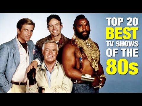 TOP 20 ⭐ BEST TV SHOWS OF THE 80s 🎬