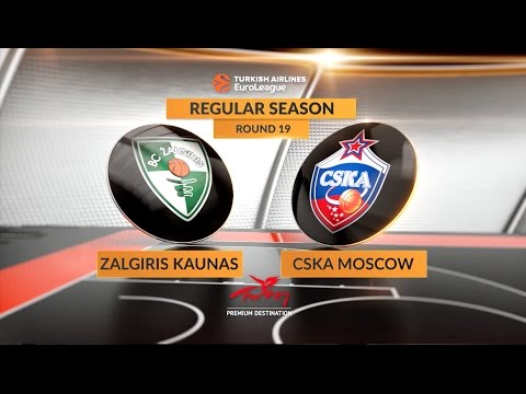 Highlights: Zalgiris Kaunas-CSKA Moscow