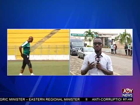 All set for Black Star and Congo match - AM Sports on JoyNews (1-9-17)