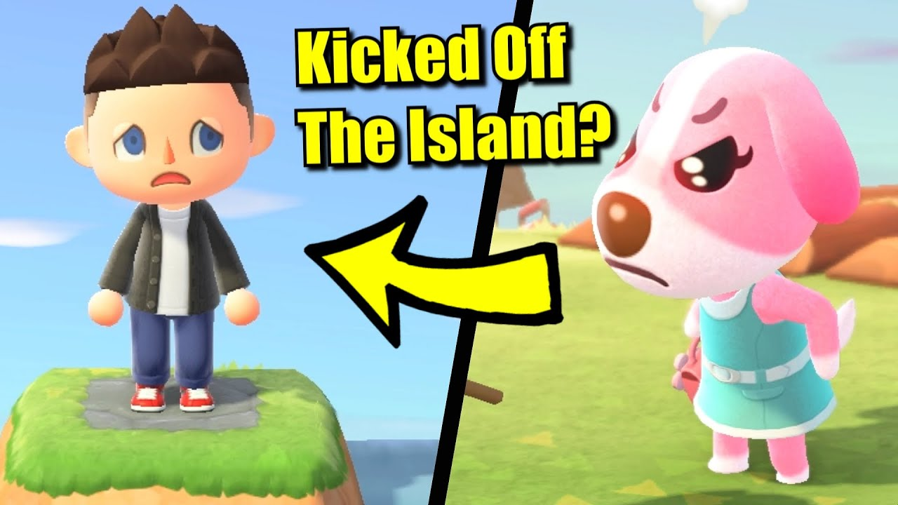 Can You Get Kicked Off The Island In Animal Crossing New Horizons