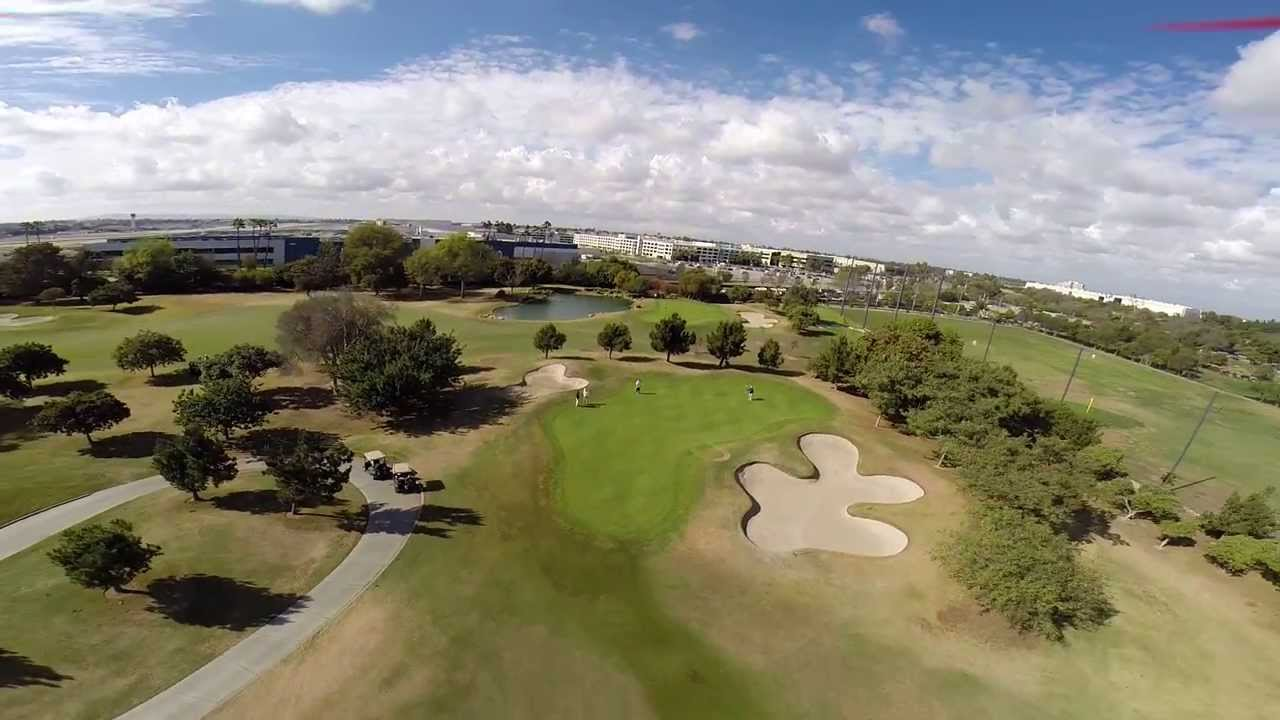 Blade Qx 350 Gopro 3 Skylinks Golf Course 2017