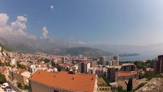 4K timelapse at Budva, Montenegro. Черногория, Будва - 1,5 дня за 40 секунд.