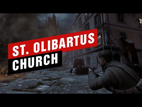 surviving-in-german-attack- -sniper-elite-2---st.-olibartus-church