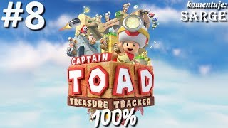 Zagrajmy w Captain Toad: Treasure Tracker [Wii U / 60 fps] odc. 8 - Farewell, Pyropuff Peak! 100%