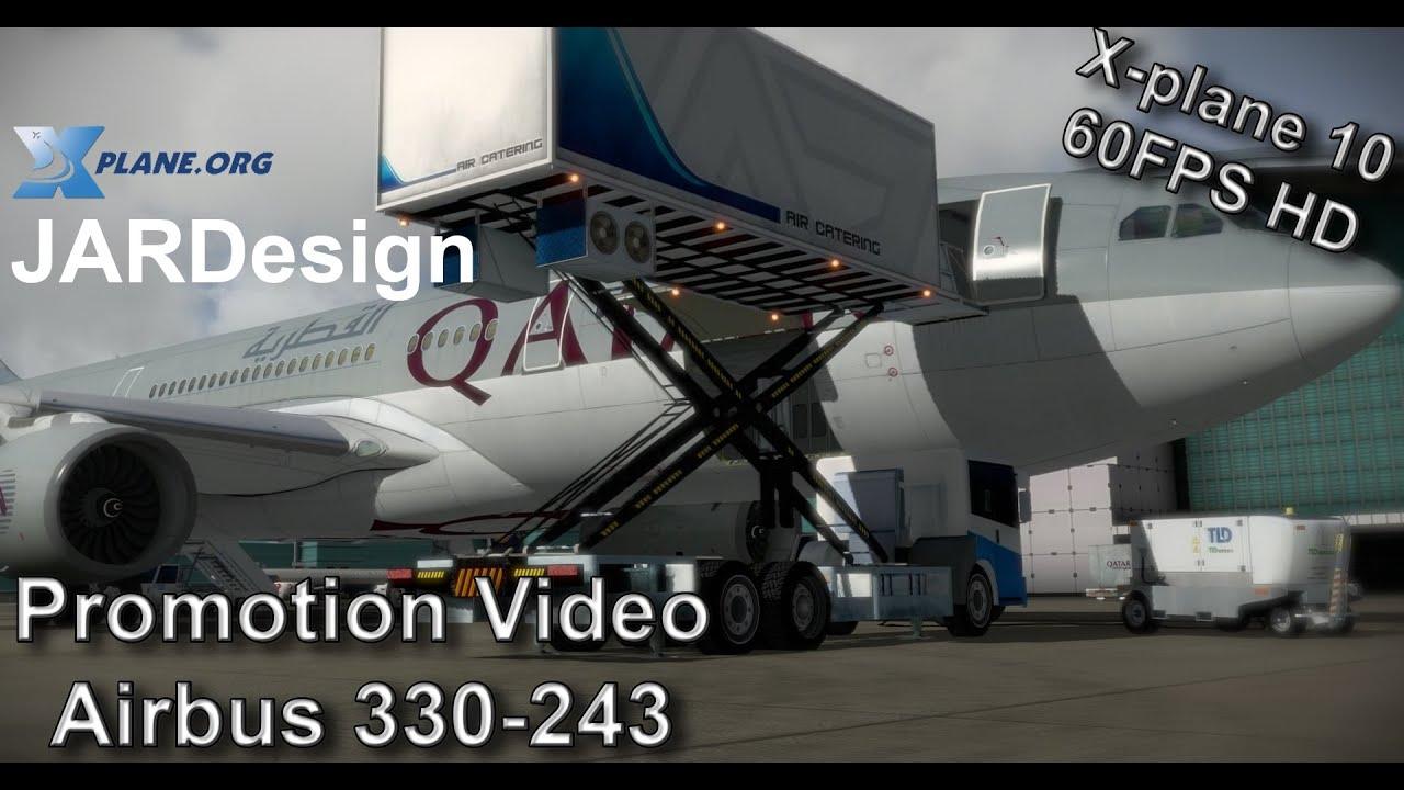 JARDesign Airbus 330-243 for X-plane 10