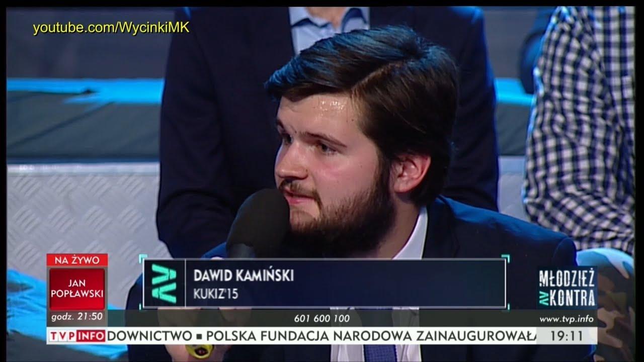 Młodzież kontra 608: Dawid Kamiński (Kukiz'15) vs Bogdan Kasprowicz i Kajetan Rajski 09.09.2017