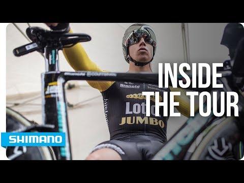 Tour de France 2017 - A Day With Lotto NL-Jumbo | SHIMANO