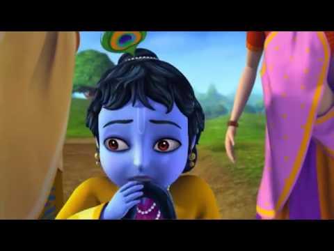 Little Krishna Hindi   Episode 5 Pralambasura and the Fire Demon