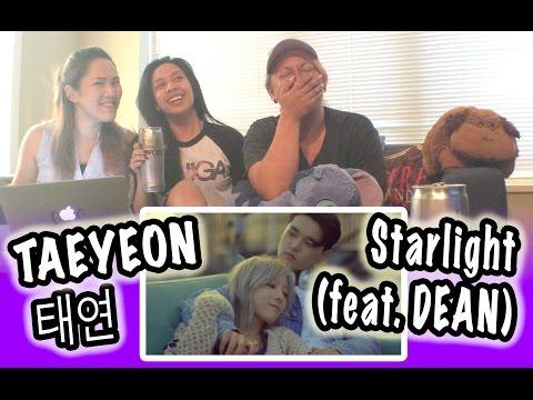 Free Download [kpop Reaction] Taeyeon 태연 -- Starlight Feat. Dean Mp3 dan Mp4