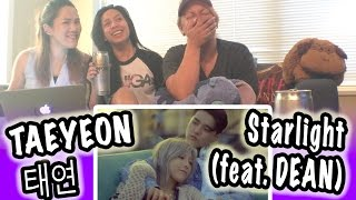 [KPOP REACTION] TAEYEON 태연 -- STARLIGHT FEAT. DEAN
