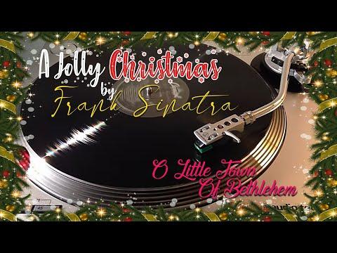 A Jolly Christmas From Frank Sinatra - O Little Town of Bethlehem - (1957) Black Vinyl LP
