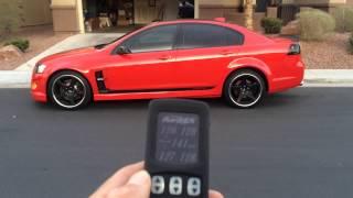 Pontiac G8 with AirRex Digital Suspension