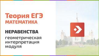 Раскрытие одного модуля геометрически. Теория. Подготовка к ЕГЭ в Новосибирске, егэцентр.рф