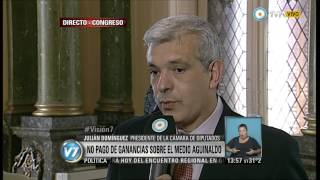Visión 7 - Debate en Diputados: Código Procesal Penal y bicameral por evasión en Suiza (2 de 2)