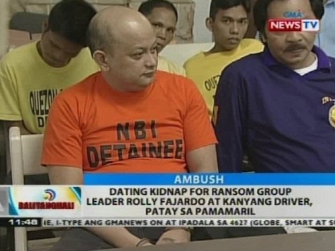 Dating Kidnap For Ransom Group Leader Rolly Fajardo At Kanyang Driver, Patay Sa Pamamaril