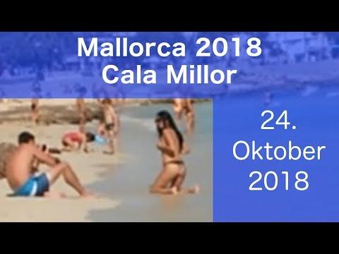 Mallorca 2018 Cala Millor 24. Oktober