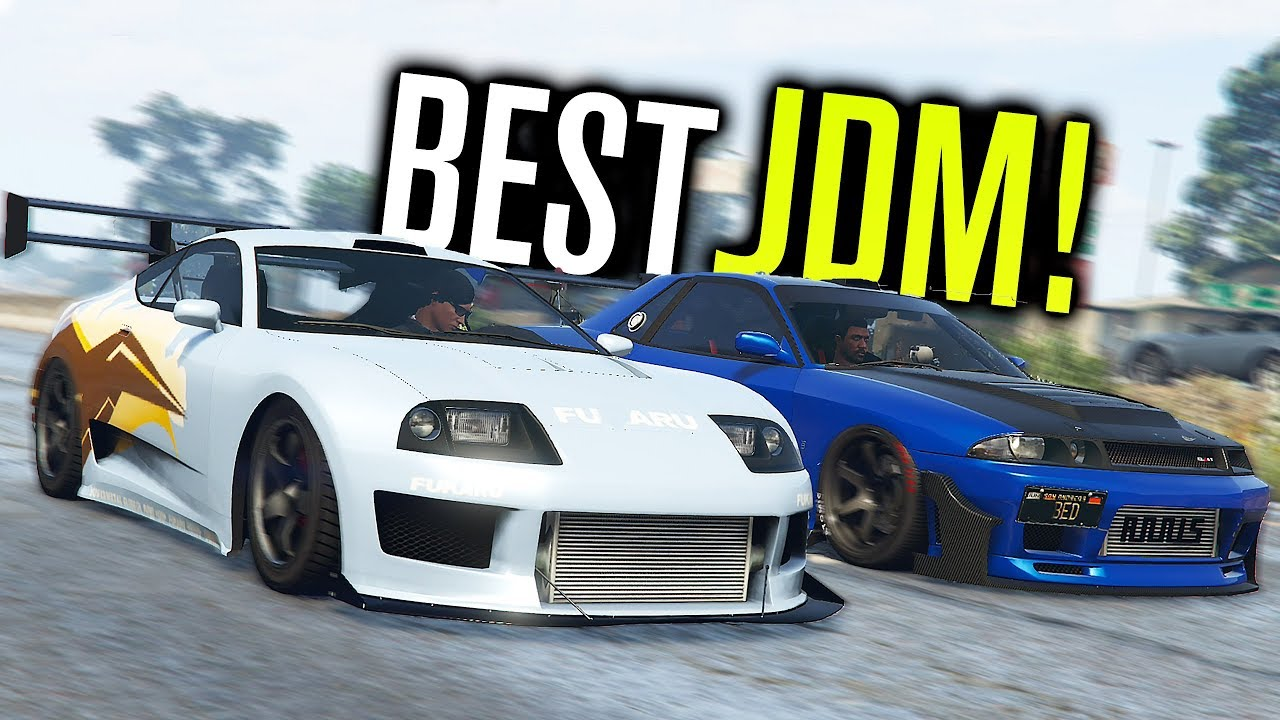 The Best Jdm Car In Gta 5 Youtube