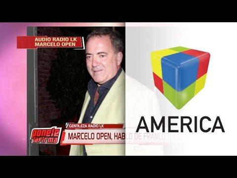 Marcelo Open: El mensaje nunca estuvo dirigido a Rial ni sus hijas