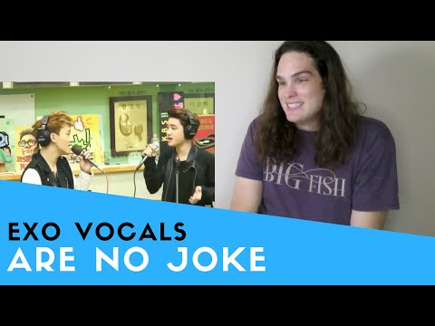 Voice Teacher Reacts to EXO VOCALS ARE NO JOKE
