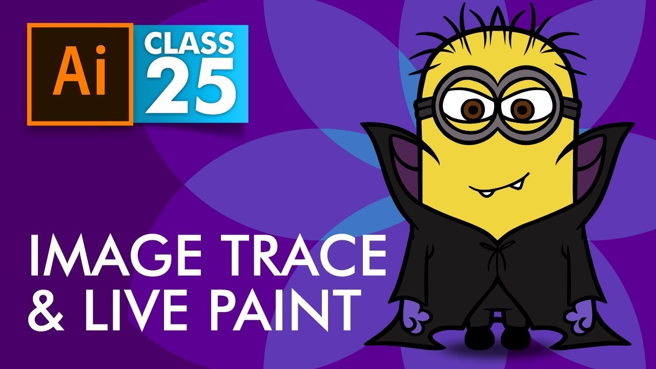 Download Adobe Illustrator - Image Trace and Live Paint - Class 25 - Urdu / Hindi