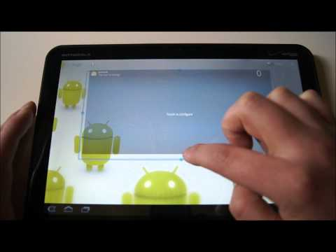 Quick Android 3.1 Honeycomb Walk-through