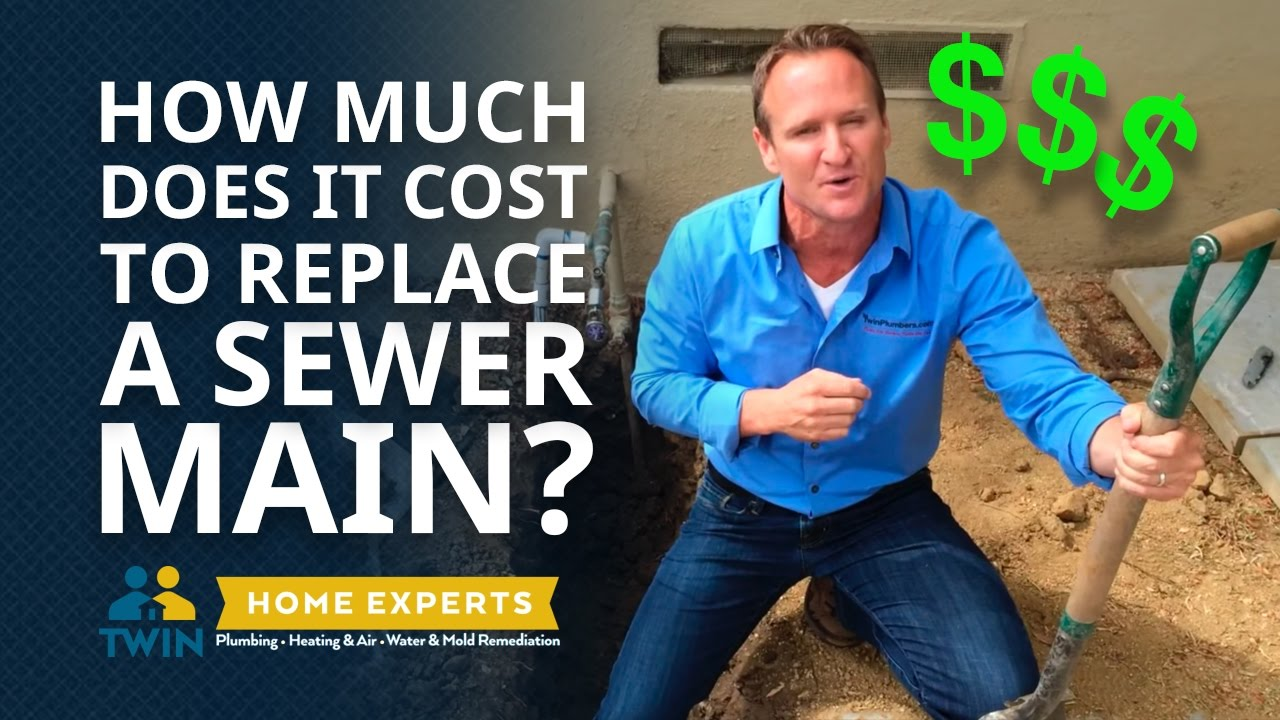 how much does it cost to replace a main sewer line